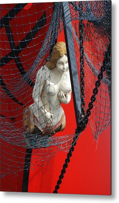 Ship Metal Print featuring the photograph Angel Of The Seas by Rob Hans