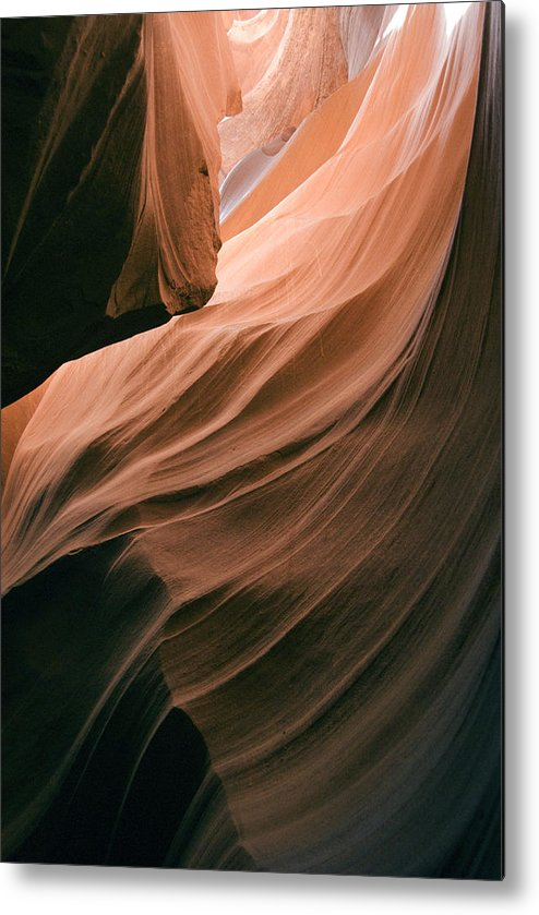 Slot Canyon Metal Print featuring the photograph Antelope Canyon 266 by Hans Mauli