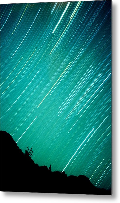 Photography Metal Print featuring the photograph Baja Starry Night by Benjamin Garvey