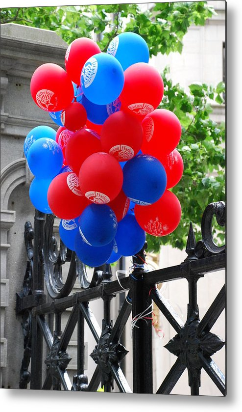 Balloons Metal Print featuring the photograph Balloons by Michael L Gentile
