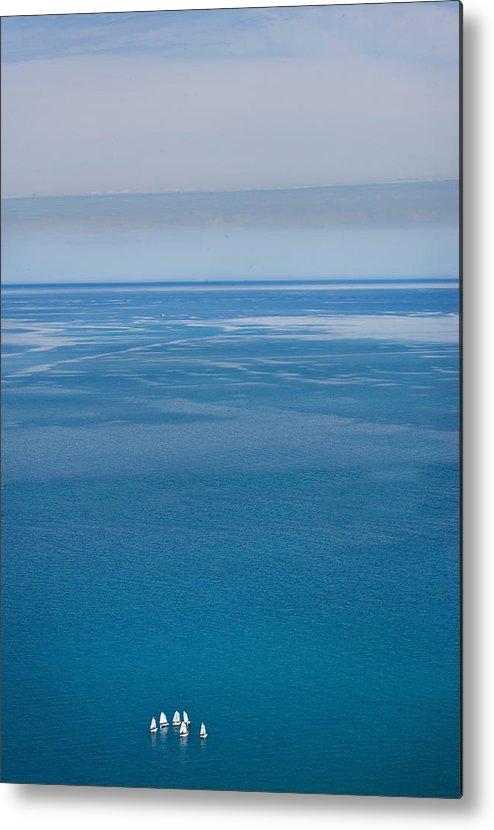 Lake Metal Print featuring the photograph Big World by Robert Harshman