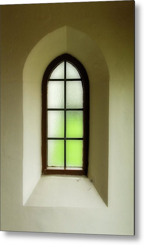 Church Metal Print featuring the photograph Church Window by James Hutchison