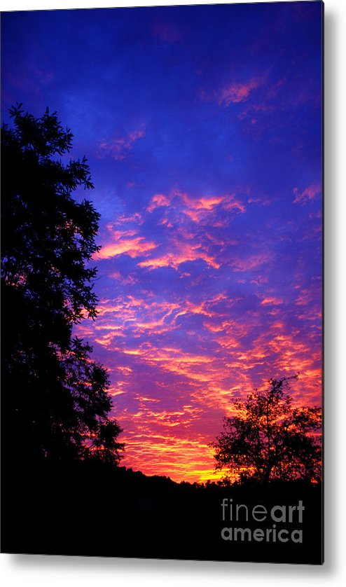 West Virginia Metal Print featuring the photograph Cirrocumulus Undulatus by Thomas R Fletcher