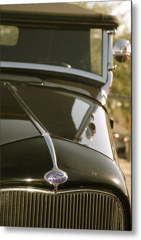 Fords Metal Print featuring the photograph Classic Ford by Timothy Mangino