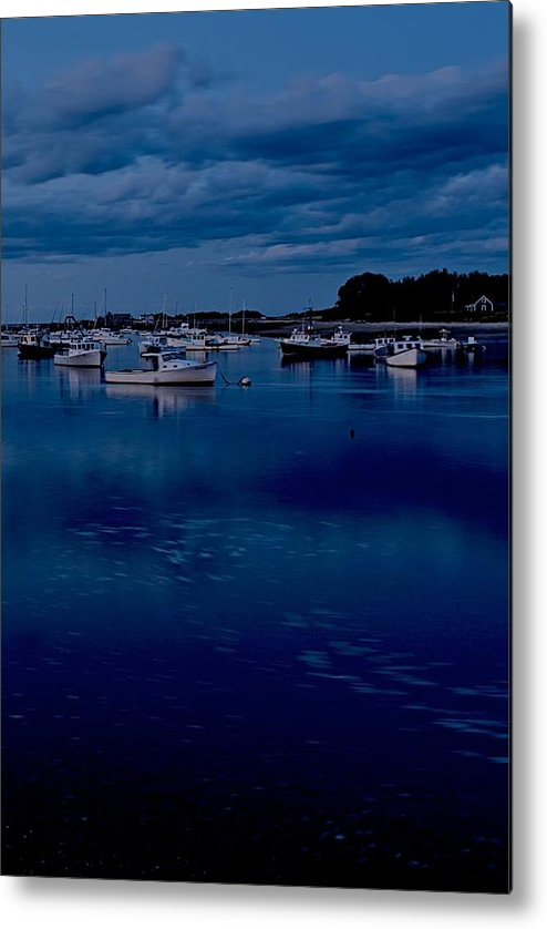 Cohasset Metal Print featuring the photograph Cohasset Harbor Portrait by Gene Sizemore
