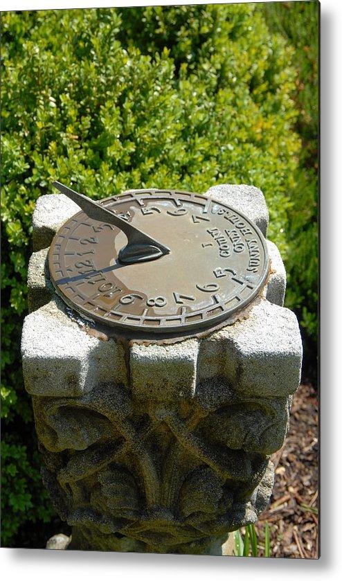 Garden Ornament Metal Print featuring the photograph Garden 10 by Joyce StJames