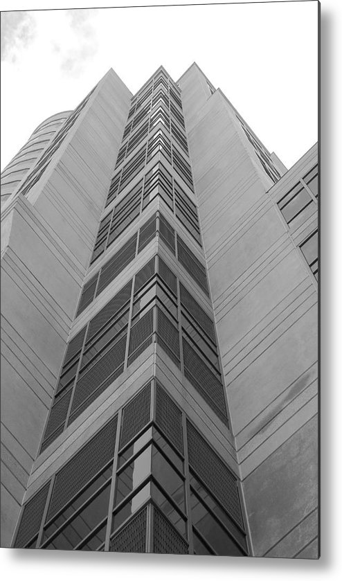 Architecture Metal Print featuring the photograph Glass Tower by Rob Hans