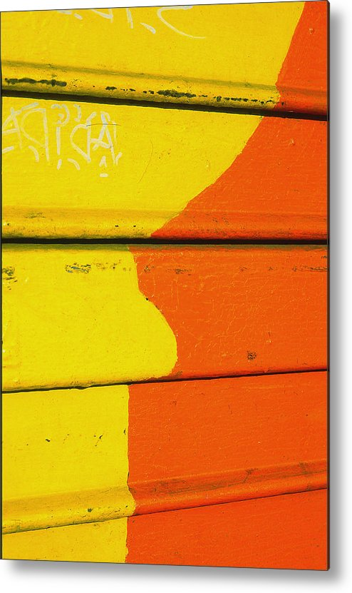Abstract Metal Print featuring the photograph High Key by Art Ferrier