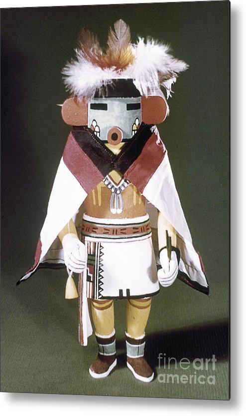 Arizona Metal Print featuring the photograph Hopi Kachina Doll by Granger