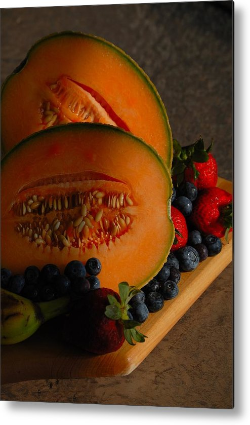 Fruit Metal Print featuring the photograph Morning Fruit by Ed Zirkle