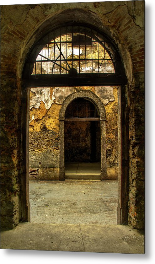 Old Metal Print featuring the photograph Old Place by James Conway