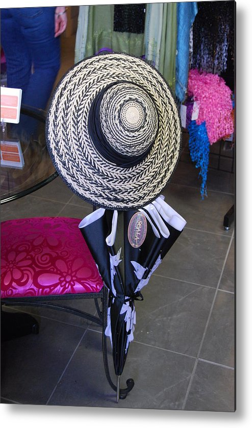 Hat Metal Print featuring the photograph Party Hat by Michael L Gentile