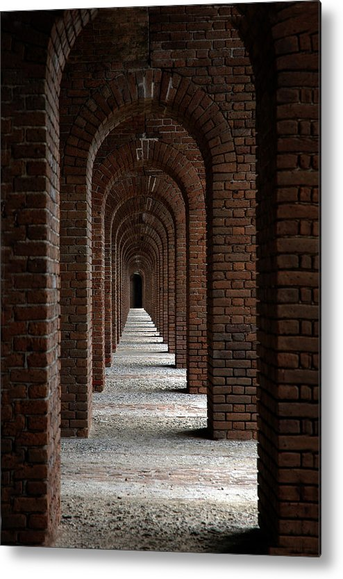 Photography Metal Print featuring the photograph Perspectives by Susanne Van Hulst