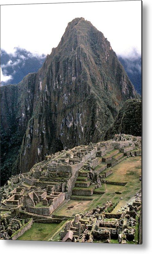 15th Century Metal Print featuring the photograph Peru: Machu Picchu by Granger