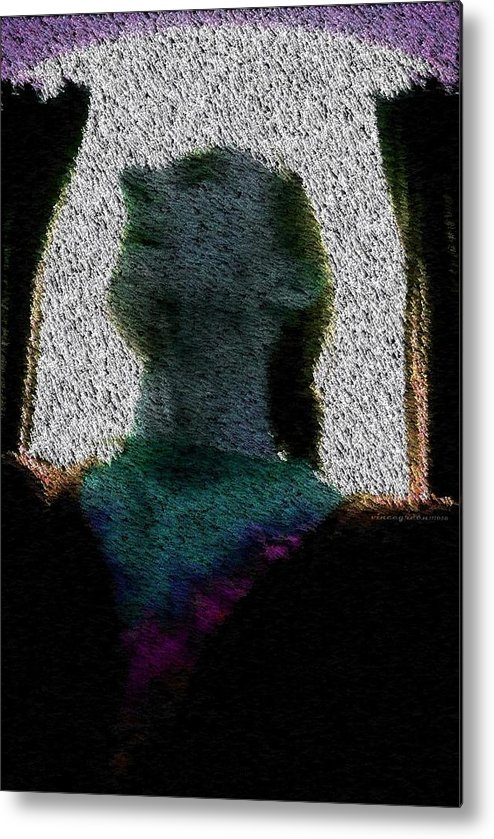 Man Metal Print featuring the digital art Ready And Able by Vincent Green