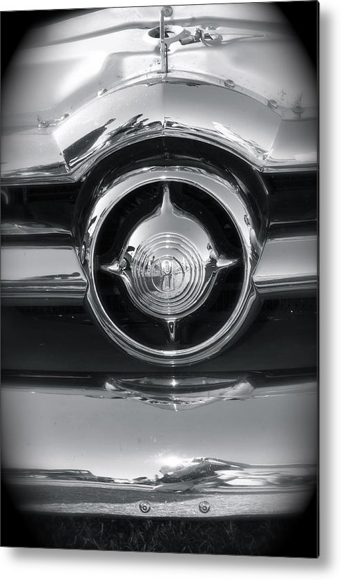 Classic Cars Metal Print featuring the photograph Simple by Timothy Mangino
