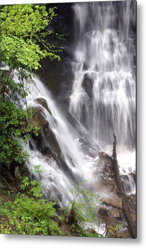 Soco Galls Metal Print featuring the photograph Soco Falls 2 by Marty Koch