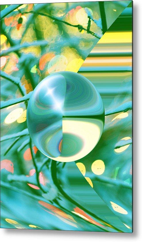 Inna Nedzelskaia Metal Print featuring the digital art Spring Dream by Inna Nedzelskaia