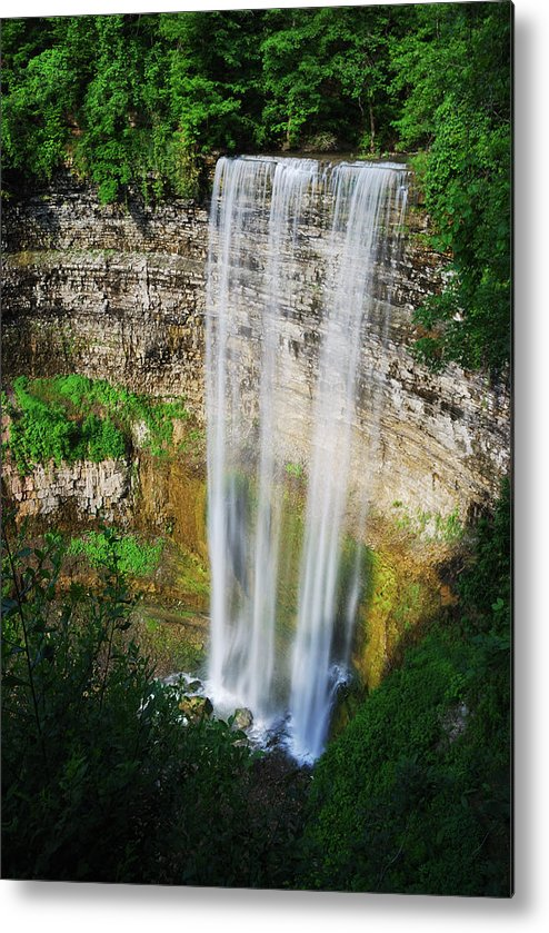 Waterfall Metal Print featuring the photograph Tew's Waterfall by Andriy Zolotoiy