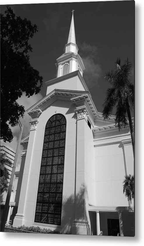 Architecture Metal Print featuring the photograph Thats Church by Rob Hans
