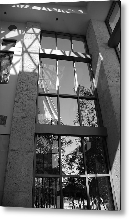 Sun Metal Print featuring the photograph The Glass Window by Rob Hans