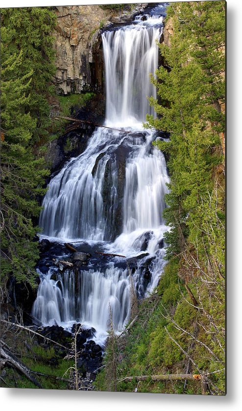 Udine Falls Metal Print featuring the photograph Udine Falls by Marty Koch