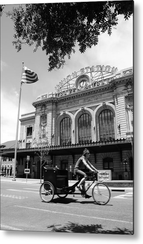 Street Metal Print featuring the photograph Union Station by Brian Anderson