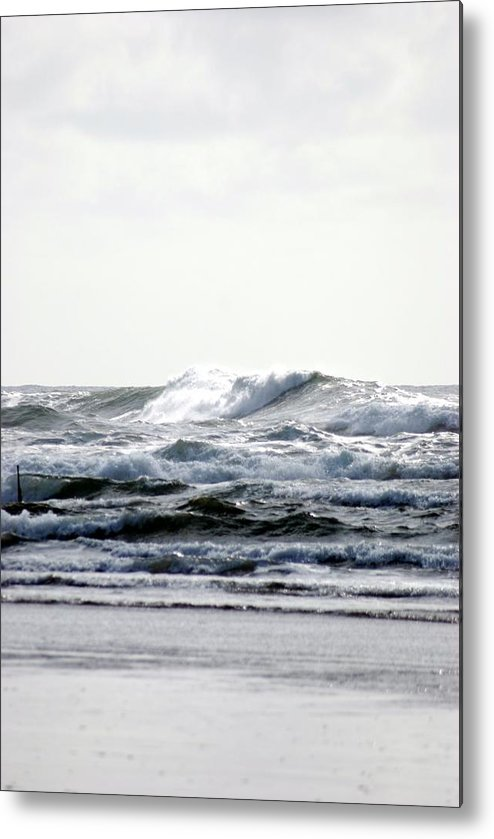 Metal Print featuring the photograph Westport Waves by JK Photography