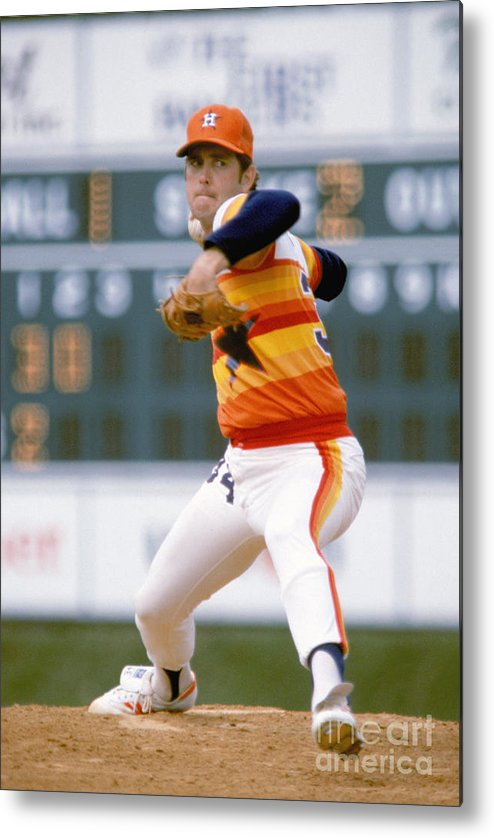 1980-1989 Metal Print featuring the photograph Mlb Photos Archive 30 by Rich Pilling