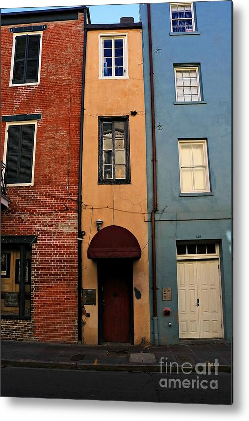 Marcia Lee Jones Metal Print featuring the photograph Mysterious New Orleans by Marcia Lee Jones