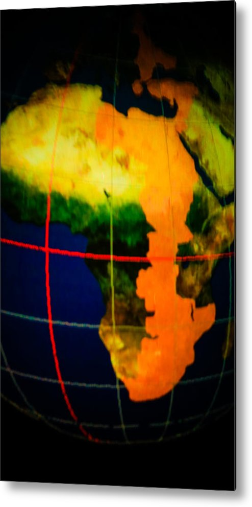 Places Metal Print featuring the photograph Continents by Tinjoe Mbugus
