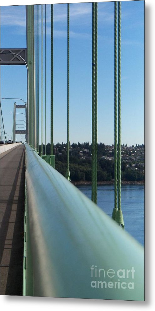 Tacoma Metal Print featuring the photograph View From The Edge by Geralyn Willingham