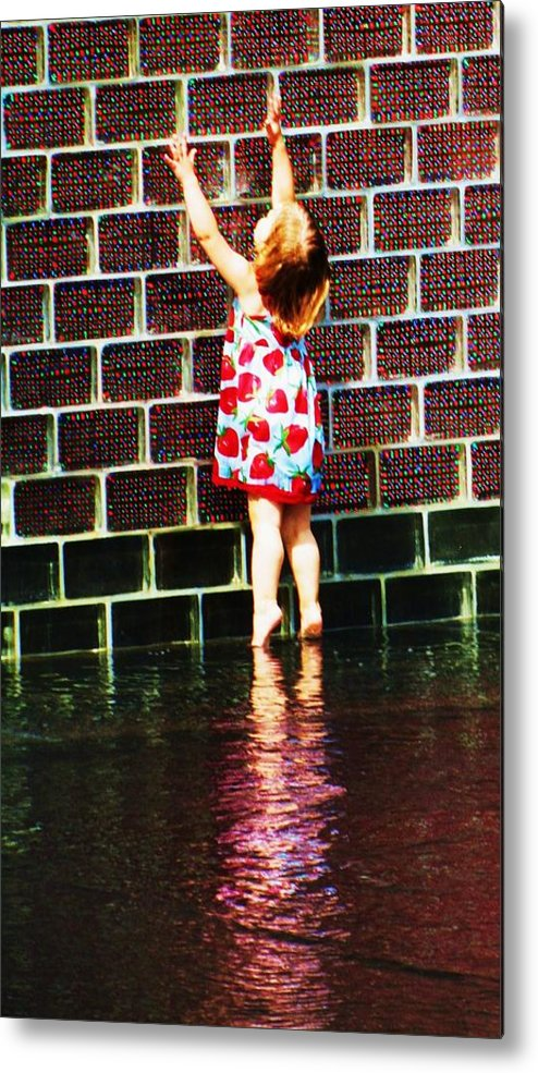 Chicago Park Metal Print featuring the photograph Millennium-park-three by Todd Sherlock