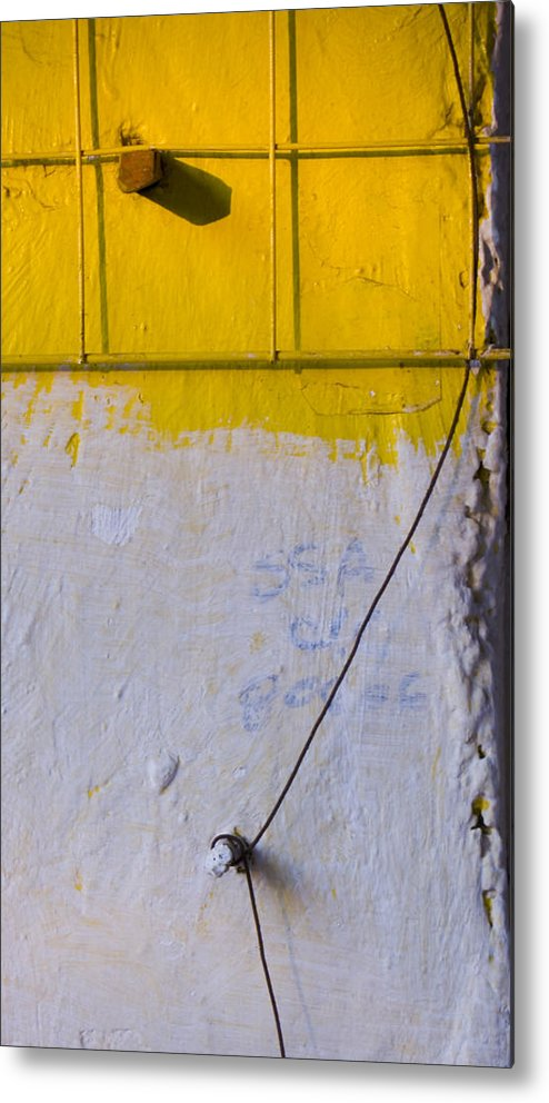 Abstract Metal Print featuring the photograph Amarillo by Skip Hunt
