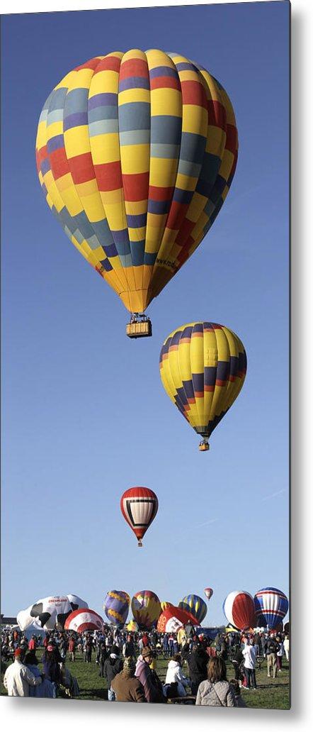 Balloon Fiesta Metal Print featuring the photograph Balloon Fiesta 2012 by Mike McGlothlen