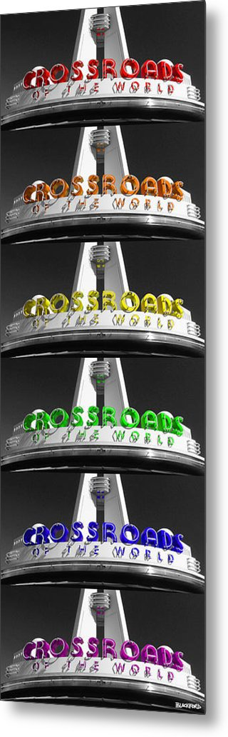 Crossroads Metal Print featuring the photograph Crossroads Panorama by Al Blackford