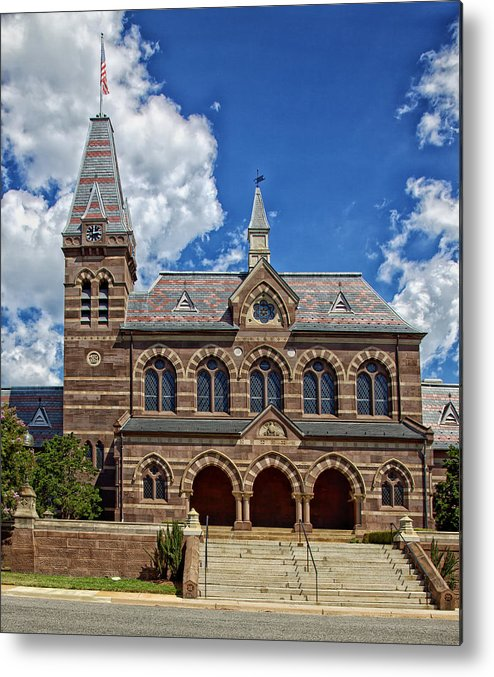Chapel Hall Metal Print featuring the photograph Chapel Hall by Mountain Dreams
