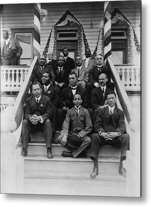 History Metal Print featuring the photograph Booker T. Washington 1856-1915, Second by Everett
