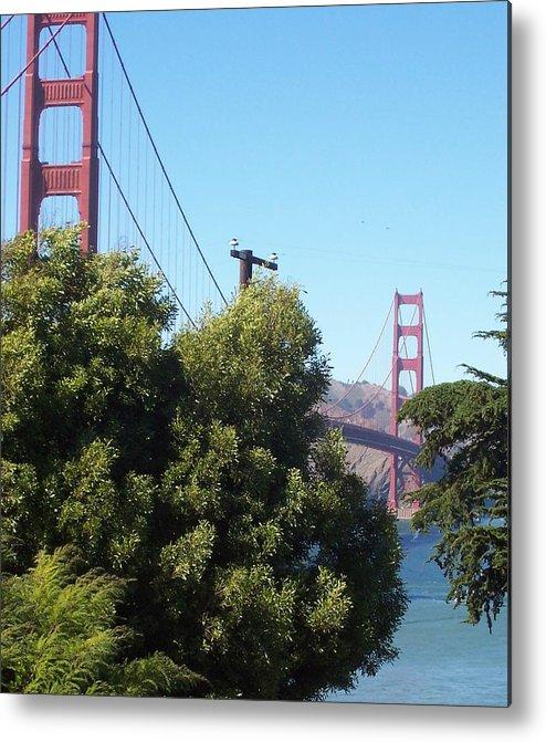 Golden Gate Bridge Metal Print featuring the photograph Golden Gate by Elizabeth Klecker
