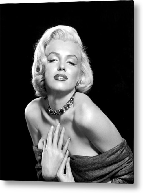 1950s Portraits Metal Print featuring the photograph Marilyn Monroe by Everett