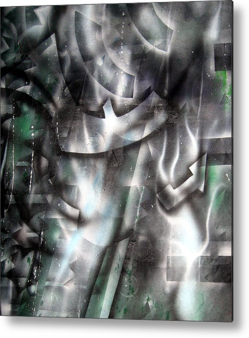 Paint Metal Print featuring the painting Rebirth by Leigh Odom