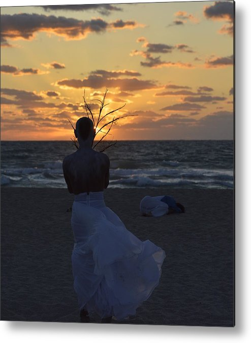 Amanecer Metal Print featuring the photograph The One That Awakes The Sun by Lenin Caraballo