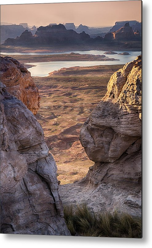 Sunrise Metal Print featuring the photograph Alstrom Point by Saija Lehtonen