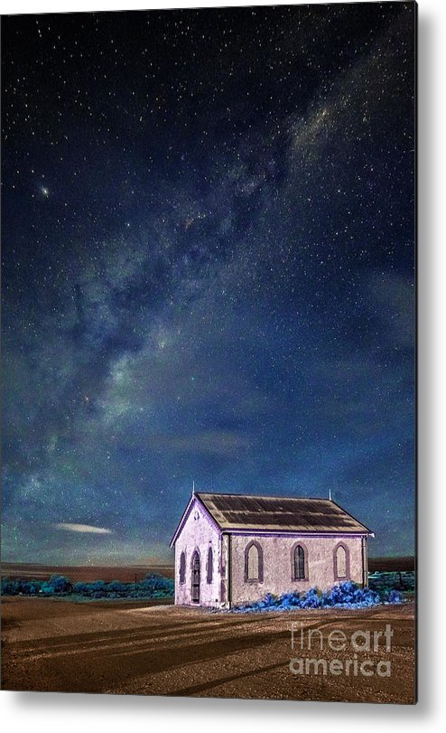 Outback Metal Print featuring the photograph The Backbone Of Night by Russ Brown