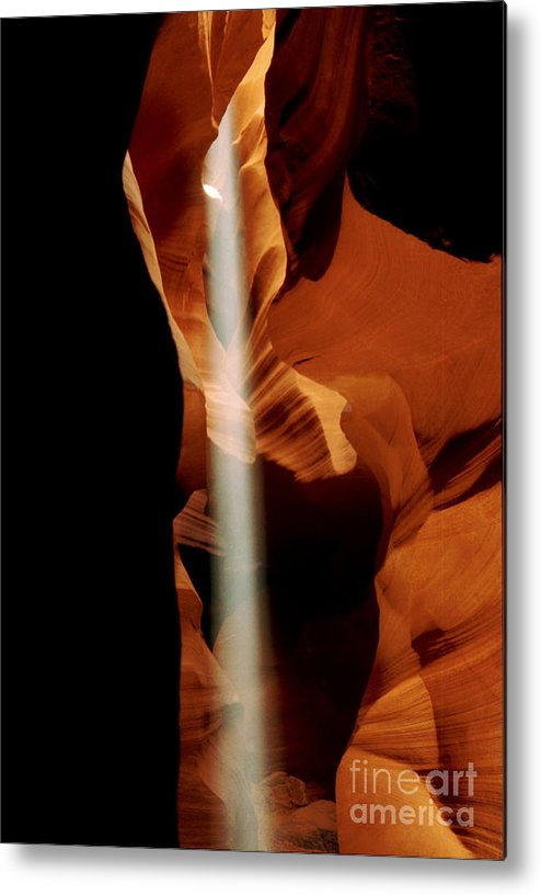 Antelope Canyon Metal Print featuring the photograph The Source by Kathy McClure