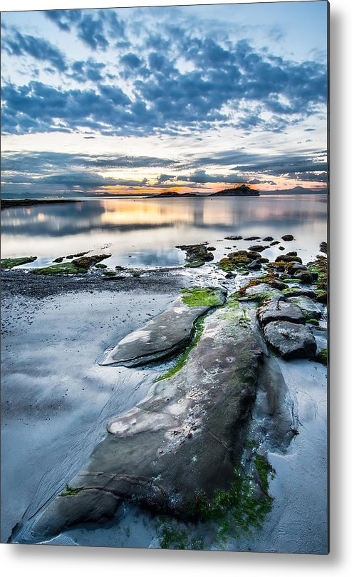 Beautiful Metal Print featuring the photograph Unknown Beach by James Wheeler