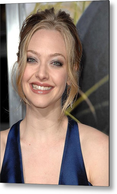 Amanda Seyfried Metal Print featuring the photograph Amanda Seyfried At Arrivals For Dear by Everett