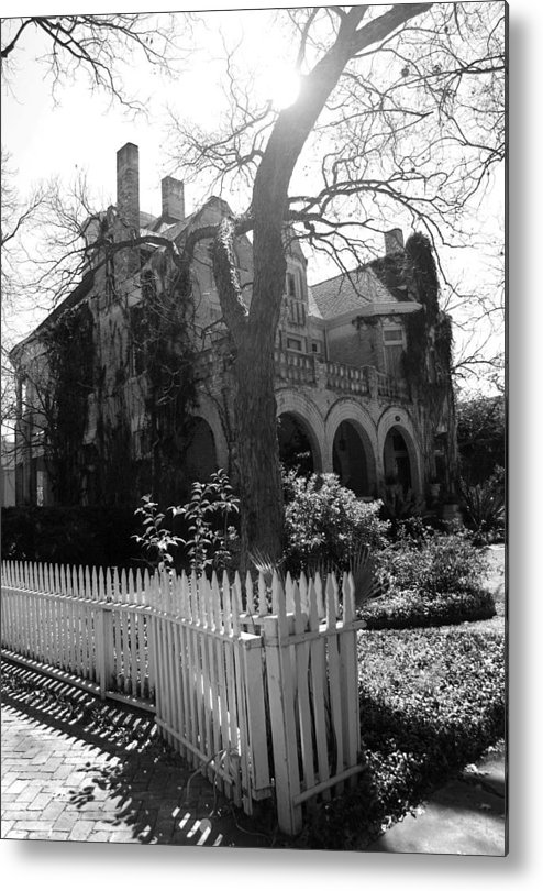 Architecture Metal Print featuring the photograph Corner House by Nina Fosdick
