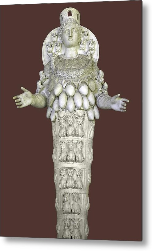 2nd Century Ad Metal Print featuring the photograph Ephesian Statue Of Artemis by Sheila Terry
