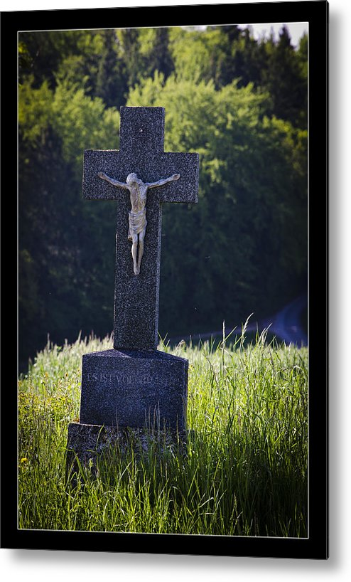 Peace Metal Print featuring the photograph It Is Accomplished by Axko Color de paraiso